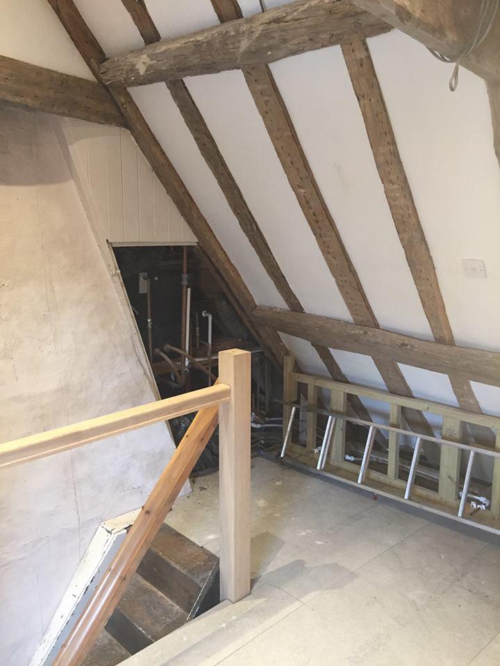 Top Floor Renovation of Grade II Listed Property