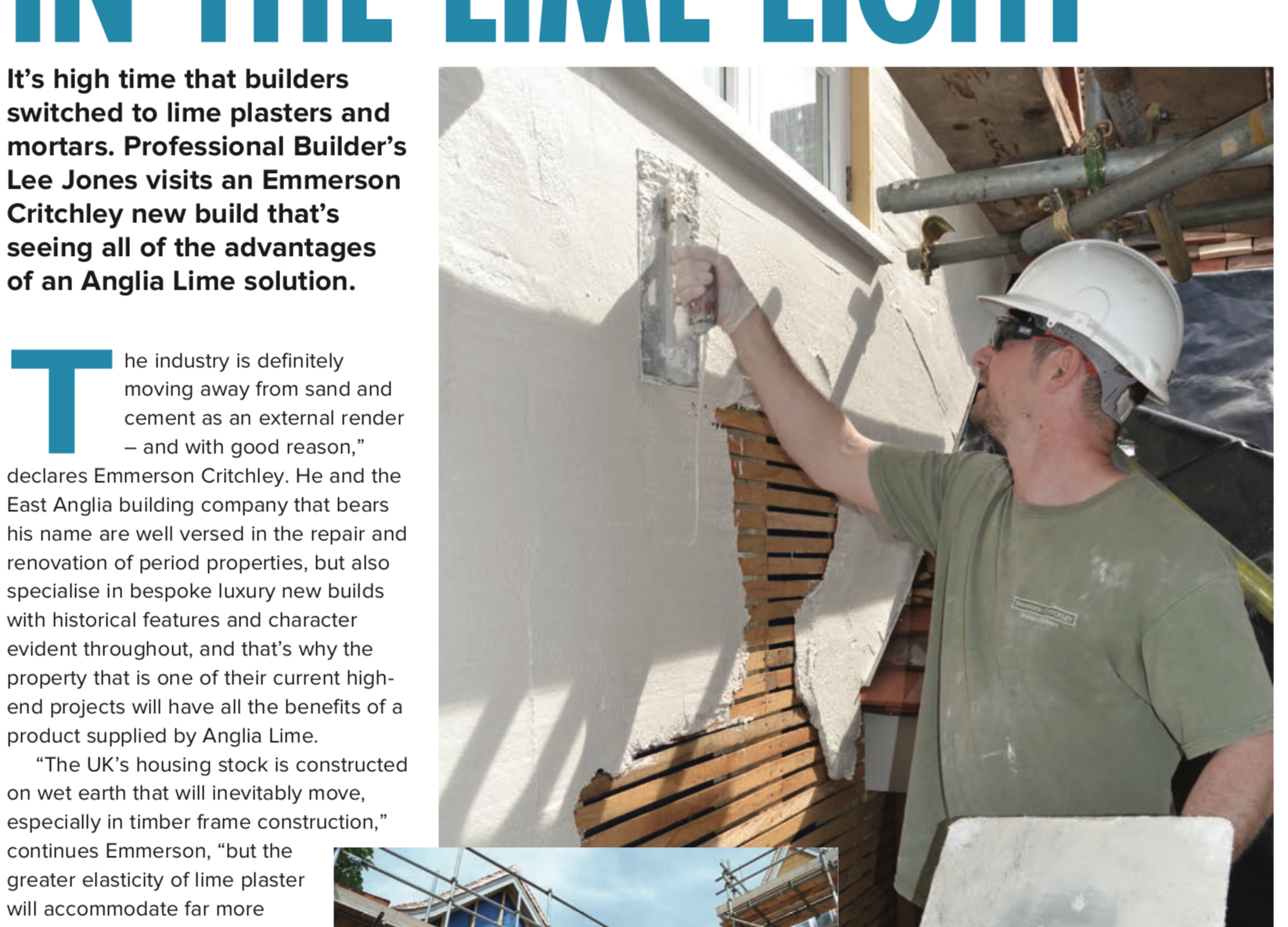 Featured in Professional Builder Magazine