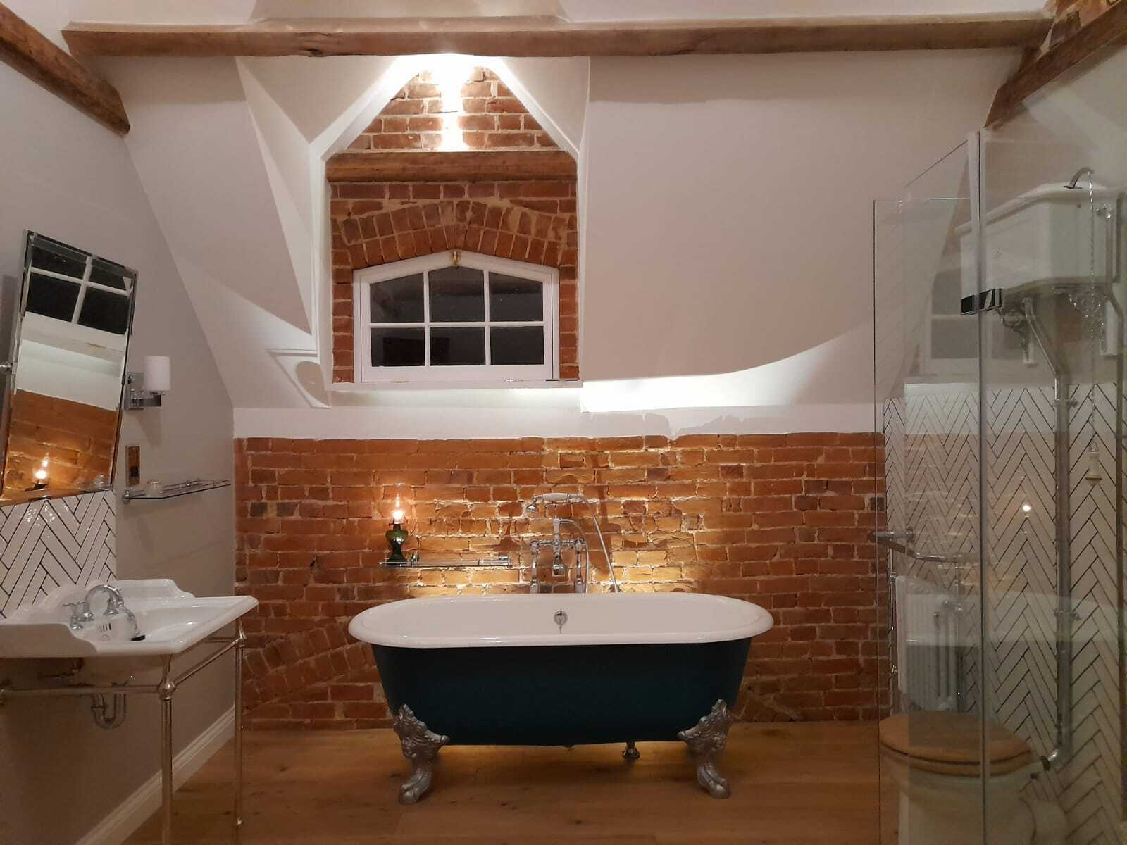 Stunning Victorian bathroom in Suffolk
